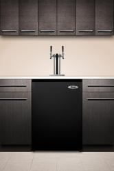Brand: SUMMIT, Model: SBC490BI7T, Style: Twin Tap System