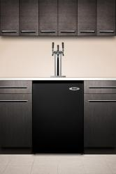 Brand: SUMMIT, Model: SBC490BI7T, Style: Triple Tap System