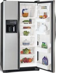 Brand: FRIGIDAIRE, Model: FRS3R5ESB, Style: 22.6 cu. ft. Side by Side Refrigerator