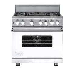 Brand: Viking, Model: VDSC5364QDJ, Fuel Type: White, Natural Gas