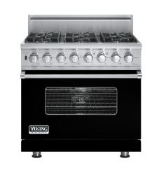 Brand: Viking, Model: VDSC5366BSGLP, Fuel Type: Black, Natural Gas