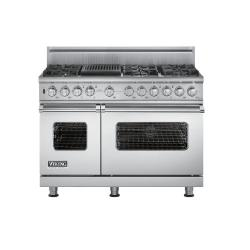 Brand: Viking, Model: VDSC5486QWH, Fuel Type: Stainless Steel, Natural Gas