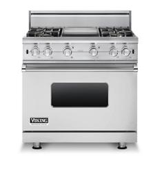 Brand: Viking, Model: VGCC5364GWH, Fuel Type: Stainless Steel - Natural Gas