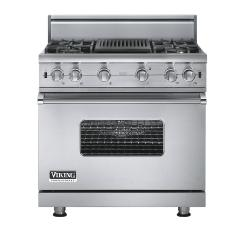 Brand: Viking, Model: VGCC5364QVB, Fuel Type: Stainless Steel - Natural Gas