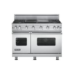 Brand: Viking, Model: VGCC5484GQWHBR, Fuel Type: Stainless Steel - Natural Gas