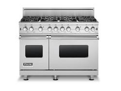 Brand: Viking, Model: VGCC5488BCBLP, Fuel Type: Stainless Steel - Natural Gas