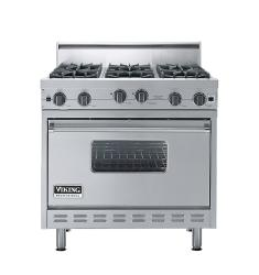 Brand: Viking, Model: VGIC3666BSS, Color: Stainless Steel