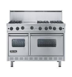 Brand: Viking, Model: VGIC4866GX, Color: Stainless Steel