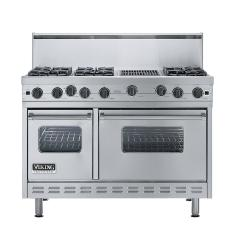 Brand: Viking, Model: VGIC4866QWH, Color: Stainless Steel