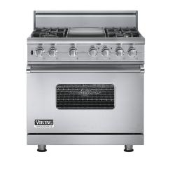 Brand: Viking, Model: VGSC5364GVBLP, Fuel Type: Stainless Steel - Natural Gas
