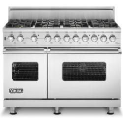 Brand: Viking, Model: VGSC5488BWH, Fuel Type: Stainless Steel - Natural Gas