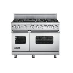 Brand: Viking, Model: VGSC5486QBKBR, Fuel Type: Stainless Steel, Natural Gas