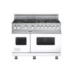 Brand: Viking, Model: VGSC5486QBKBR, Fuel Type: White,  Natural Gas