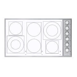 Brand: Viking, Model: VECU1666Bx, Color: White Glass and Knobs