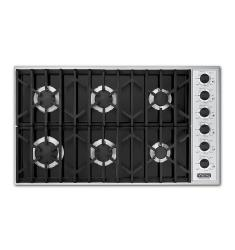 Brand: Viking, Model: VGSU1636BSSLP, Color: Black and LP Gas