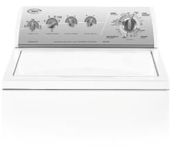 Brand: Whirlpool, Model: LSQ9549PG, Color: White with Silver Metallic Console
