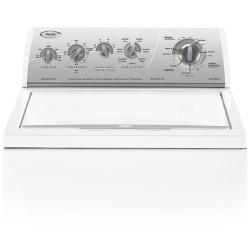 Brand: Whirlpool, Model: GST9679P, Color: White with Silver Metallic Console