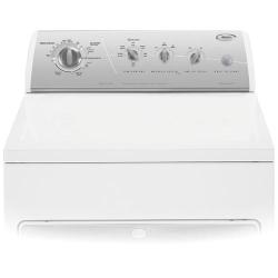 Brand: Whirlpool, Model: GGQ9800PG, Color: White with Silver Metallic Console
