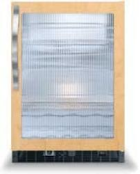 Brand: Viking, Model: DFUR140, Style: Fluted Glass Door with White Interior