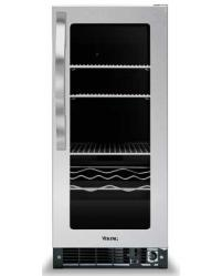 Brand: Viking, Model: DUAR151FSS, Color: Clear Glass Door with Black Interior