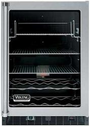 Brand: Viking, Model: VUAR143FSS, Style: Clear Glass Door with Black Interior