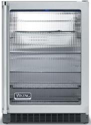 Brand: Viking, Model: VUAR143FSS, Style: Clear Glass Door with White Interior