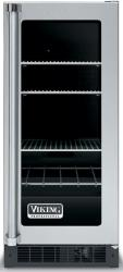 Brand: Viking, Model: VUAR154, Style: Clear Glass Door with Black Interior