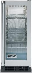 Brand: Viking, Model: VUAR153FSS, Style: Clear Glass Door with White Interior