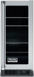 Brand: Viking, Model: VUAR154, Style: Fluted Glass Door with Black Interior