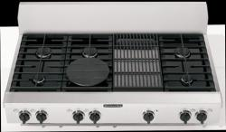Brand: KITCHENAID, Model: KGCP483KSS, Style: 6 Burners with Grill