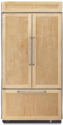 Brand: KITCHENAID, Model: KBFO42FTX, Color: Brushed Aluminum Trim/Panel Required