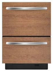 Brand: KITCHENAID, Model: KUDD03DTWH, Color: Custom Panel Required