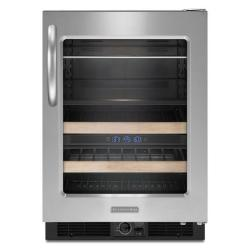 Brand: KitchenAid, Model: KBCS24RSSS, Style: Right-Swing Door/Stainless Steel