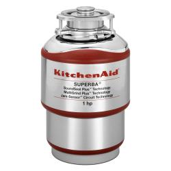 Brand: KitchenAid, Model: KCDS100T, Style: 1 HP Continuous Feed Waste Disposer
