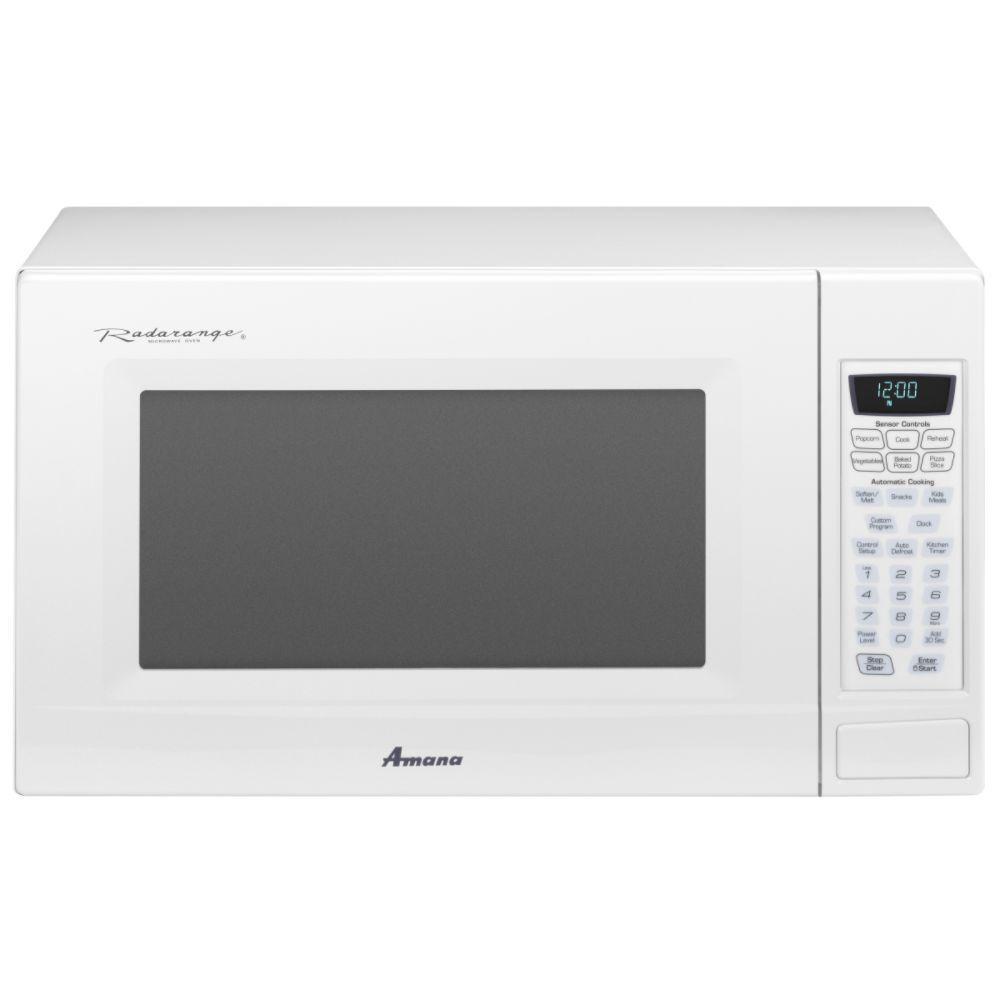 Amc2206baw Amana Amc2206baw Countertop Microwaves White