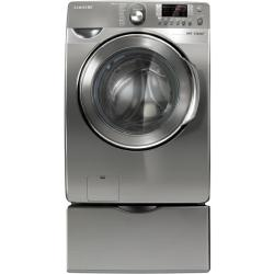 Brand: SAMSUNG, Model: WF448AAW, Color: Stainless Platinum