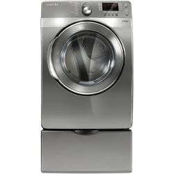 Brand: Samsung, Model: DV448AEW, Color: Stainless Platinum