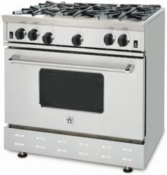 Brand: Bluestar, Model: RNB36, Style: 6 Burners