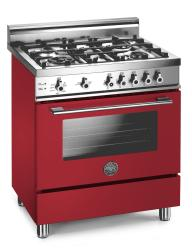 Brand: Bertazzoni, Model: X304GGVNELP, Fuel Type: Red, Natural Gas