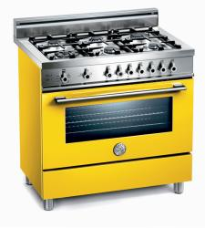 Brand: Bertazzoni, Model: X365GGVBL, Fuel Type: Yellow, Natural Gas
