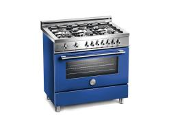 Brand: Bertazzoni, Model: X366GGVVE, Color: Blue, Natural Gas