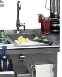 Brand: Alfresco, Model: ASKT, Style: Preparation and Hand Wash Sink