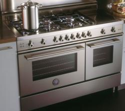 Brand: Bertazzoni, Model: X486GGGVBL, Fuel Type: Stainless Steel, Natural Gas