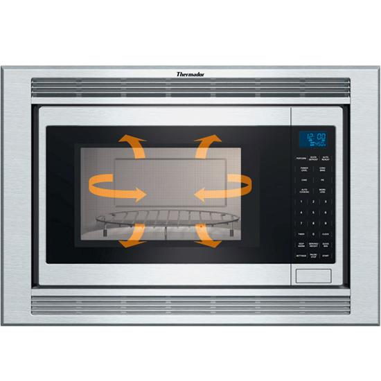 Thermador Cmt227n Microwave Not Heating: Thermador MCES 1.5 Cu. Ft. Built-in Microwave Oven With