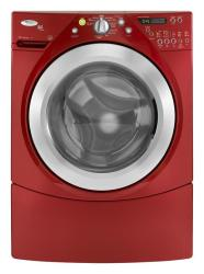Brand: Whirlpool, Model: WFW9550W, Color: Cranberry Red