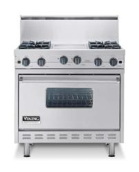Brand: Viking, Model: VGIC3684GWH, Color: Stainless Steel