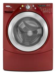 Brand: Whirlpool, Model: WFW9450WR, Color: Cranberry Red