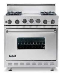 Brand: Viking, Model: VGSC3674QBK, Color: Stainless Steel