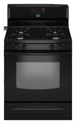 Brand: MAYTAG, Model: MGR7661WW, Color: Black