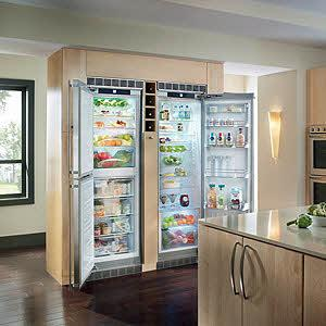 Sbs241 Liebherr Sbs241 Side By Side Refrigerators